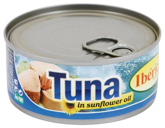 Iberica Тунец в подсолнечном масле, 160 г
