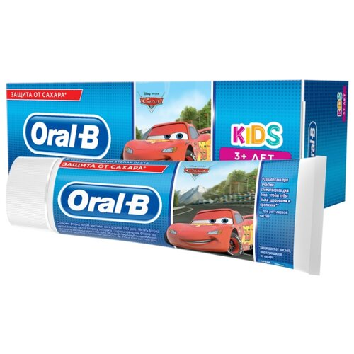 Купить Зубная паста Oral-B KIDS 3+, 75 мл, Гигиена полости рта