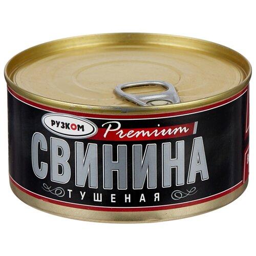 Рузком Свинина тушеная Premium ГОСТ, высший сорт 325 г рузком экстра свинина тушеная высший сорт гост 325 г