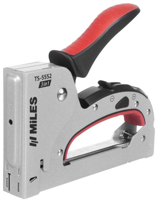 Скобогвоздезабивной пистолет Miles 3в1 TS-5552