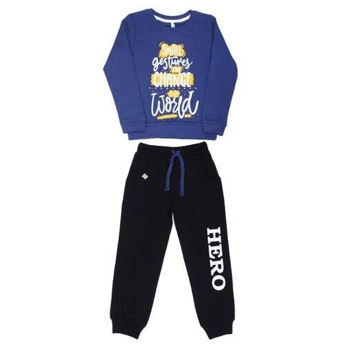 Купить Спортивный костюм MisterBanana размер 128-134, синий, Спортивные костюмы
