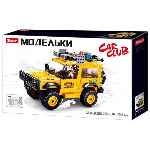 Купить Конструктор SLUBAN Модельки M38-B0815 Внедорожник, Конструкторы