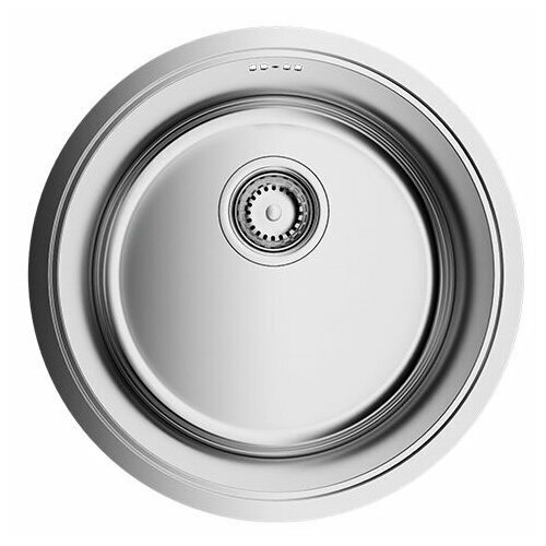 Фото - Врезная кухонная мойка 42 см OMOIKIRI Toya 42-U/IF-IN нержавеющая сталь врезная кухонная мойка 54 см omoikiri tadzava 54 u i ultra in нержавеющая сталь