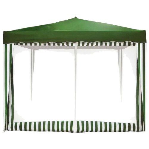 цена на Стенка Greenhouse сетка с молнией ST-018 зеленый / белый