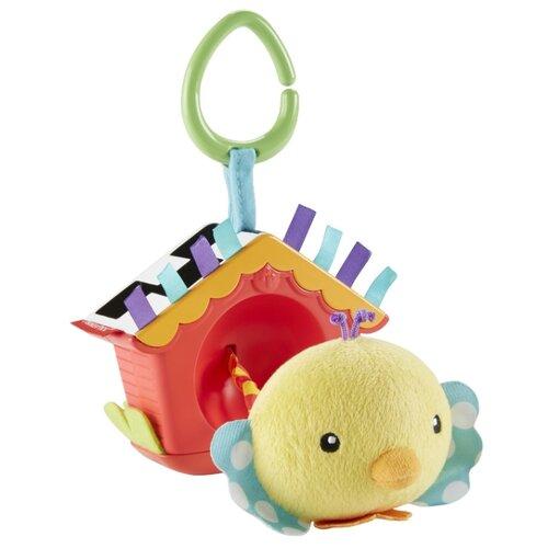 Купить Подвесная игрушка Fisher-Price Птичка (DFP95) желтый/красный, Подвески