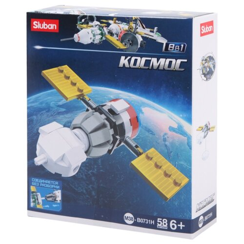 Конструктор SLUBAN Космос M38-B0731H Космический корабль, Конструкторы  - купить со скидкой