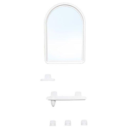 Зеркало BEROSSI Berossi 56 36х52 см снежно-белый в раме ковш berossi practic