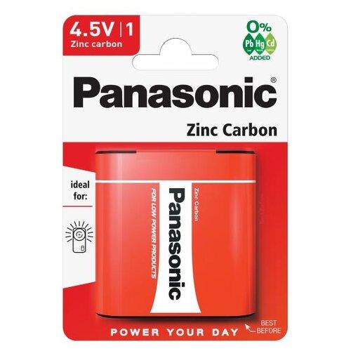 Батарейка Panasonic Zinc Carbon 3R12 1 шт блистерБатарейки и аккумуляторы<br>
