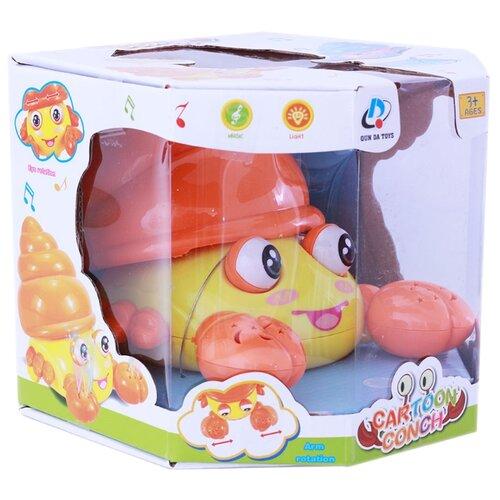 Купить Интерактивная развивающая игрушка Берадо Крабик со светом и звуком, Развивающие игрушки