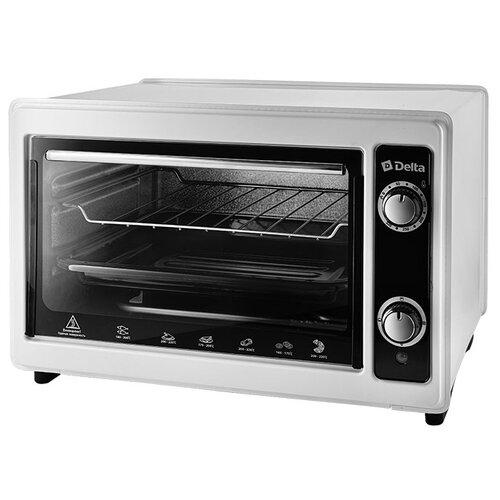цена на Мини-печь DELTA D-0122 белый