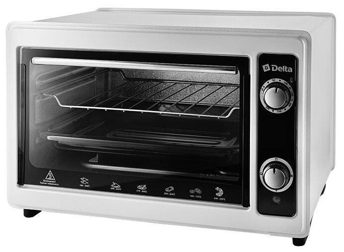 Стоит ли покупать Мини-печь DELTA D-0122 белый - 3 отзыва на Яндекс.Маркете (бывший Беру)