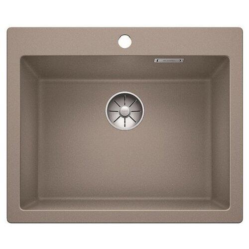 Фото - Врезная кухонная мойка 61.5 см Blanco Pleon 6 серый беж кухонная мойка blanco pleon 6 split infino серый беж 521696