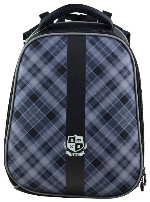BG Рюкзак Junior School style SBJ 2749 черный/серый