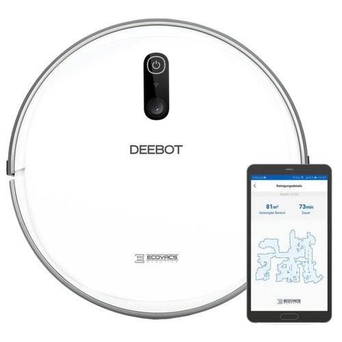 Робот-пылесос Ecovacs DeeBot D710 белый