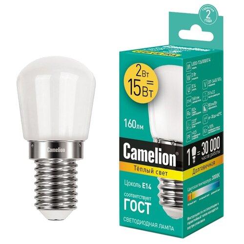 Лампа светодиодная Camelion 13153, E14, T26, 2Вт wakodo t26 page 8