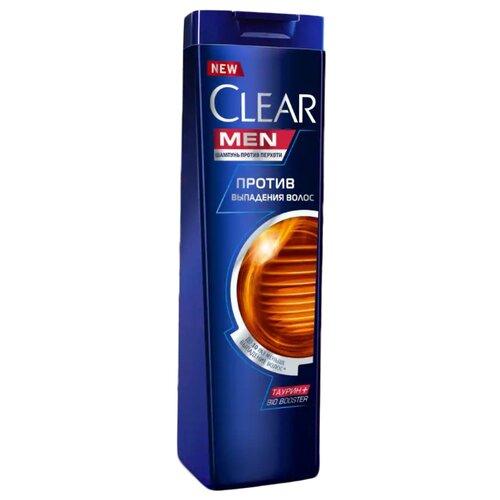 Clear шампунь против перхоти для мужчин Против выпадения волос 200 мл шампунь для волос ducray squanorm 200 мл против сухой перхоти
