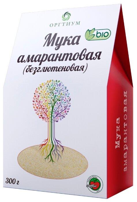 Мука Оргтиум экологическая амарантовая, 0.3 кг