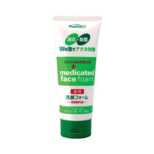 Фото - KUMANO Пенка для умывания против черных точек Pharmaact, 130 г kumano cosmetics natural oil пенка для умывания с лошадиным маслом очищающая для жирной кожи 130 г