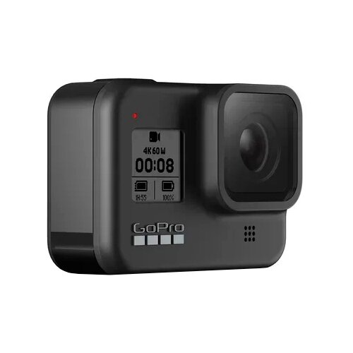 Экшн-камера GoPro HERO8 Black Edition (CHDHX-801-RW) черный экшн камера gopro hero8 black edition chdhx 801 rw