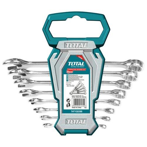 Набор гаечных ключей Total (8 шт.) THT102286Наборы инструментов и оснастки<br>