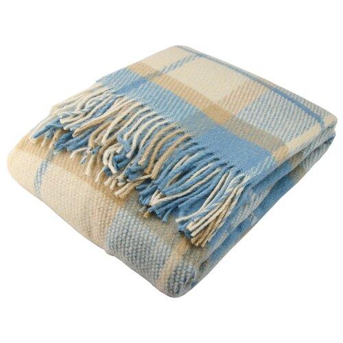 цена на Плед ARLONI Шотландия 140 х 200 см, клетка голубая