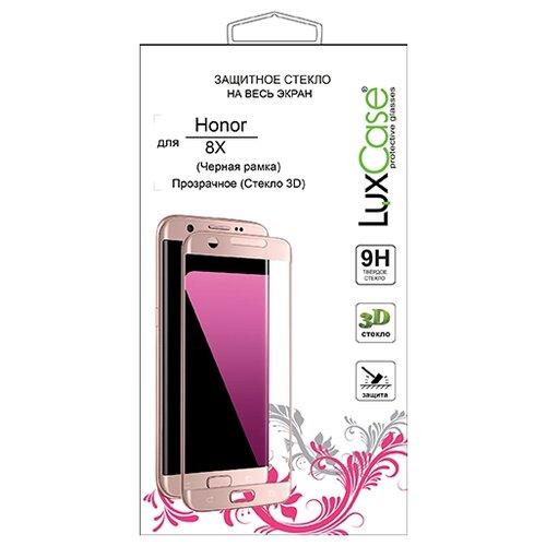 Купить Защитное стекло LuxCase 3D для Honor 8X черный