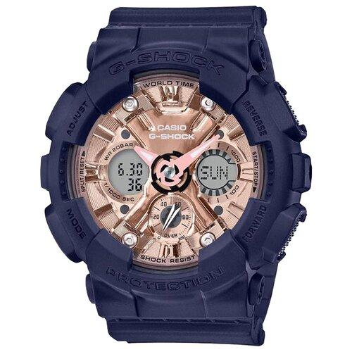 цена Наручные часы CASIO GMA-S120MF-2A2 онлайн в 2017 году
