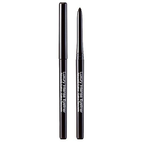 Kiss New York Professional Автоматический карандаш для глаз Luxury Intense Eyeliner blackКонтур для глаз<br>