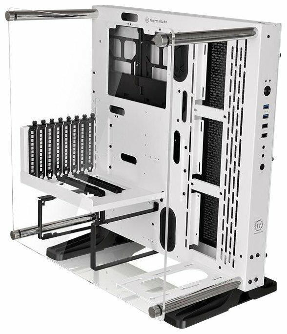 Thermaltake Case Tt Core P3 CA-1G4-00M6WN-00 ATX Wall Mount white no PSU Snow Edition