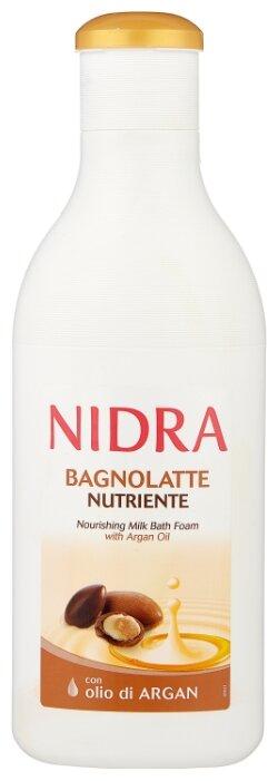 Nidra Пена молочко для ванны с аргановым