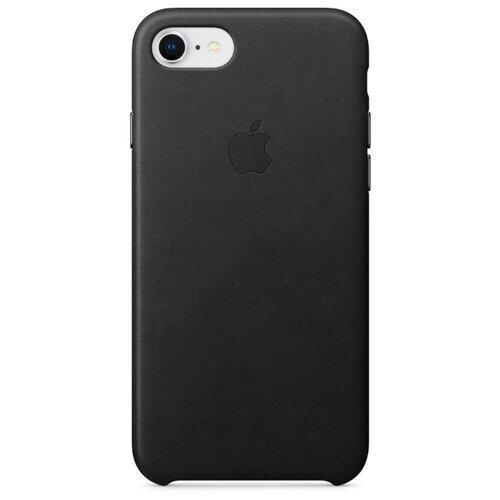 Чехол Apple кожаный для iPhone 8 / 7 blackЧехлы<br>