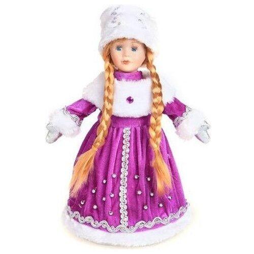 Фигурка Новогодняя Сказка Снегурочка 35 см конфетница (972373) фиолетовый фигурка снегурочка 5х7 см