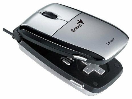 Мышь Genius Navigator 365 Laser Silver-Black USB