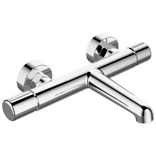 Смеситель для ванны с подключением душа Agger Slim А2210000 двухрычажный