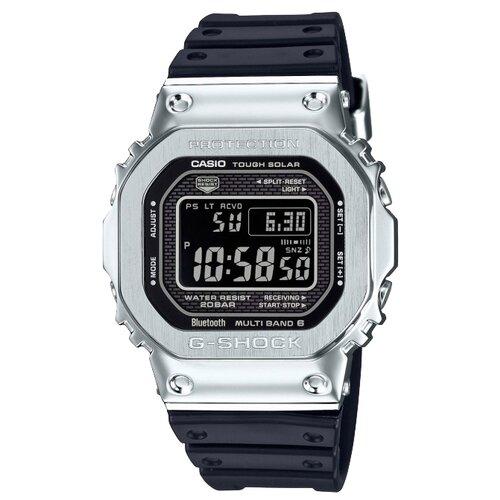 Часы CASIO G-SHOCK GMW-B5000-1E серебристый/черный casio часы casio gd 400 1e коллекция g shock