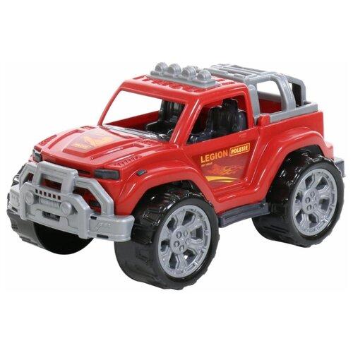Внедорожник Полесье Легион №2 (76021/76113) 38.5 см красный машинка полесье легион 4 пограничный 76304