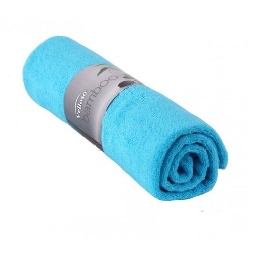 GOLDTEX Полотенце Velloso Bamboo Soft Touch банное 70х140 см голубой полотенце банное ecotex авеню голубой серый