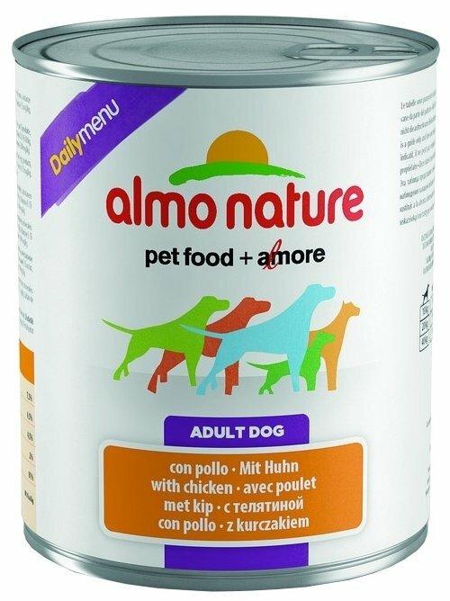 Корм для собак Almo Nature Daily Menu курица