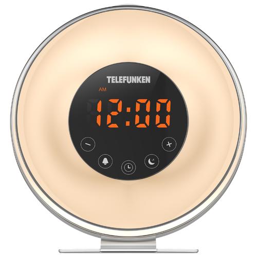 Радиобудильник TELEFUNKEN TF-1596 белый telefunken tf csrp3498b сине белый