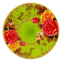 Best Home Kitchen Блюдо вращающееся Розы 30 см