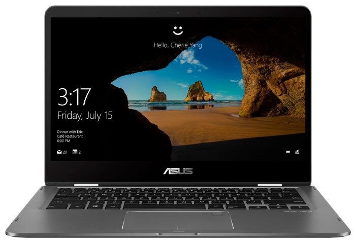 "Ноутбук ASUS ZenBook Flip 14 UX461FA-E1039T (Intel Core i5 8265U 1600 MHz/14""/1920x1080/8GB/512GB SSD/DVD нет/Intel UHD Graphics 620/Wi-Fi/Bluetooth/Windows 10 Home)"