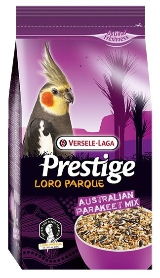 Versele-Laga корм Prestige PREMIUM Australian Parakeet Loro Parque Mix для средних попугаев 1000 г