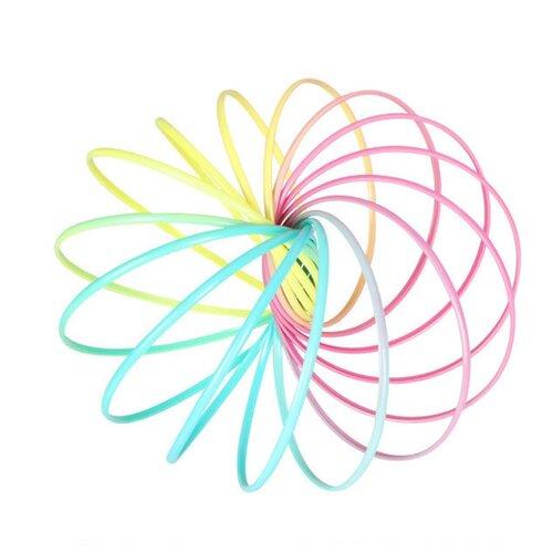 Слинки Junfa toys Magic Ring K8003 разноцветный
