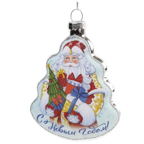 Елочная игрушка Magic Time Дед Мороз с подарками (80374) мультиколор