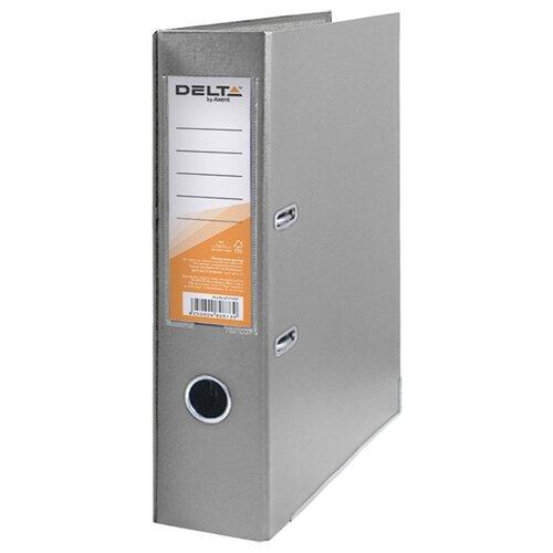 Купить Delta by Axent Папка-регистратор A4 с односторонним покрытием, 7, 5cм серый, Файлы и папки