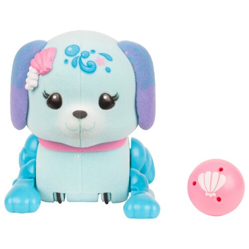 Купить Интерактивная игрушка робот Moose Little Live Pets Щенок с мячиком ракушка, Роботы и трансформеры