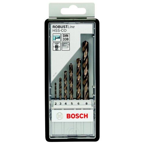 Набор сверл BOSCH Robust Line 2.607.019.924 набор сверл bosch robust line multi construction 2 607 010 521 4 шт