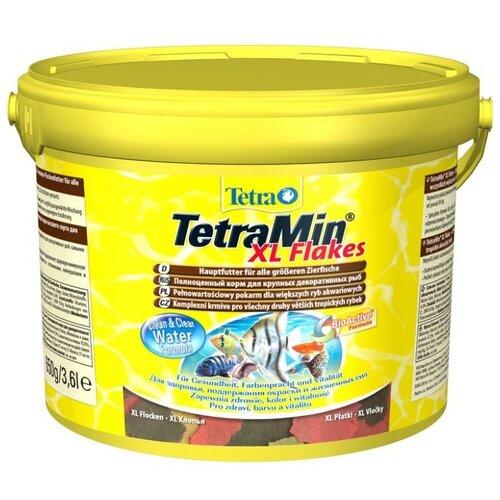 Сухой корм для рыб Tetra TetraMin XL Flakes 3600 мл сухой корм для рыб tetra tetramin flakes 500 мл 100 г
