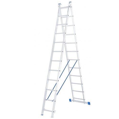 Лестница трансформер 2-секционная Сибртех 97912