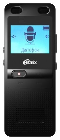 Диктофон RITMIX RR-910 8 Gb, черный [15120033]